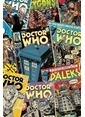 Pyramid International Maxi Poster Doctor Who Comic Montage Renkli